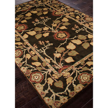 Load image into Gallery viewer, Jaipur Rugs Classic Arts And Crafts Pattern Brown/Yellow Wool Area Rug PM58 (Rectangle)