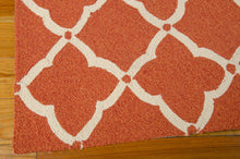Load image into Gallery viewer, Nourison Portico Orange Area Rug POR01 ORG