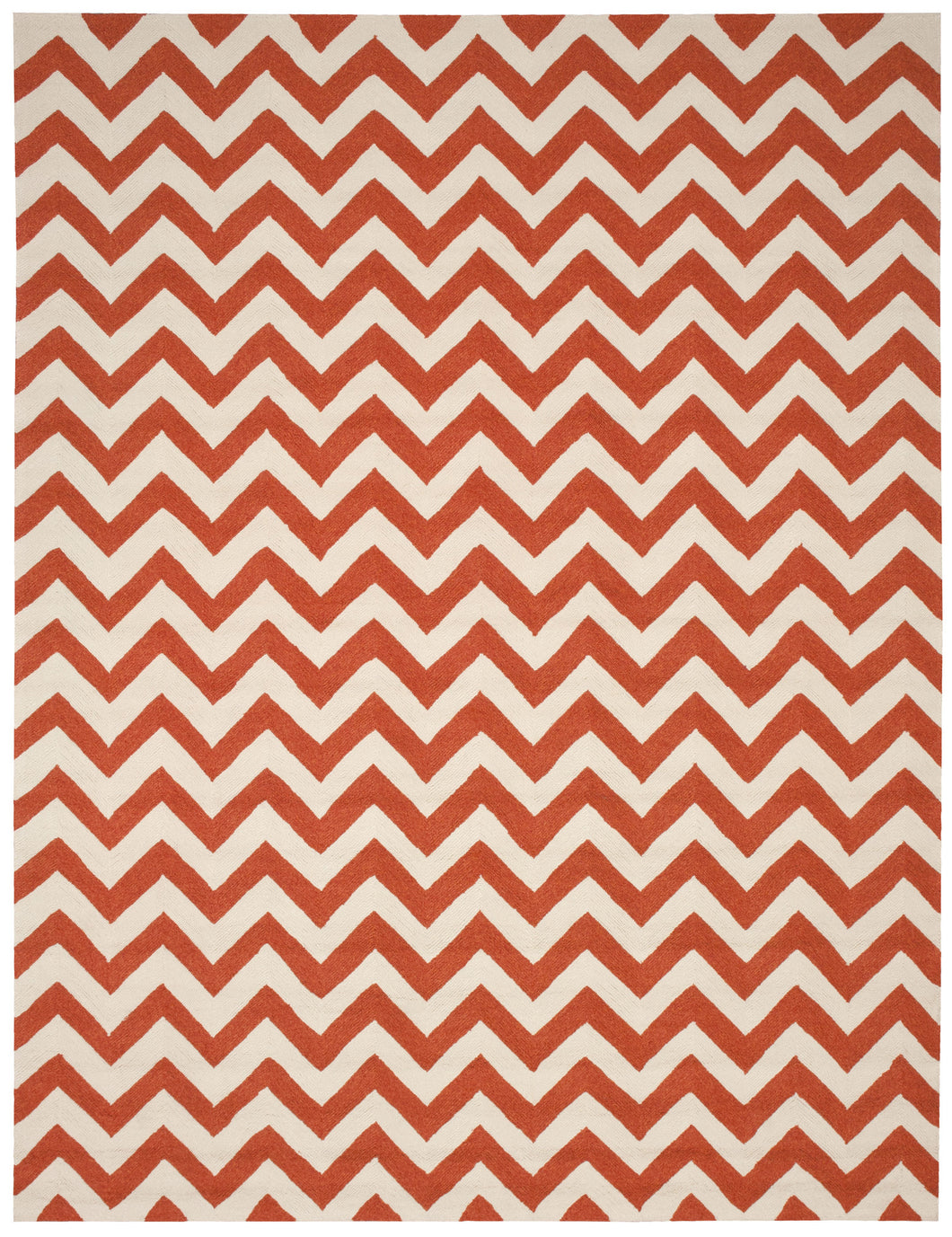 Nourison Portico Orange Area Rug POR03 ORG