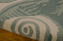 Load image into Gallery viewer, Nourison Portico Aqua Area Rug POR04 AQU (Rectangle)