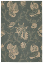 Load image into Gallery viewer, Nourison Portico Aqua Area Rug POR04 AQU