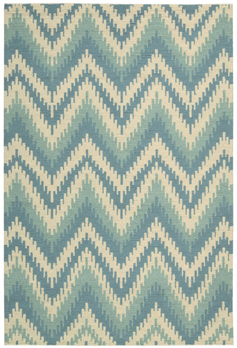 Barclay Butera Prism Pacific Area Rug By Nourison PRI28 PACIF (Rectangle) | BOGO USA
