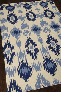 Barclay Butera Prism Indigo Area Rug By Nourison PRI33 INDIG (Rectangle) | BOGO USA