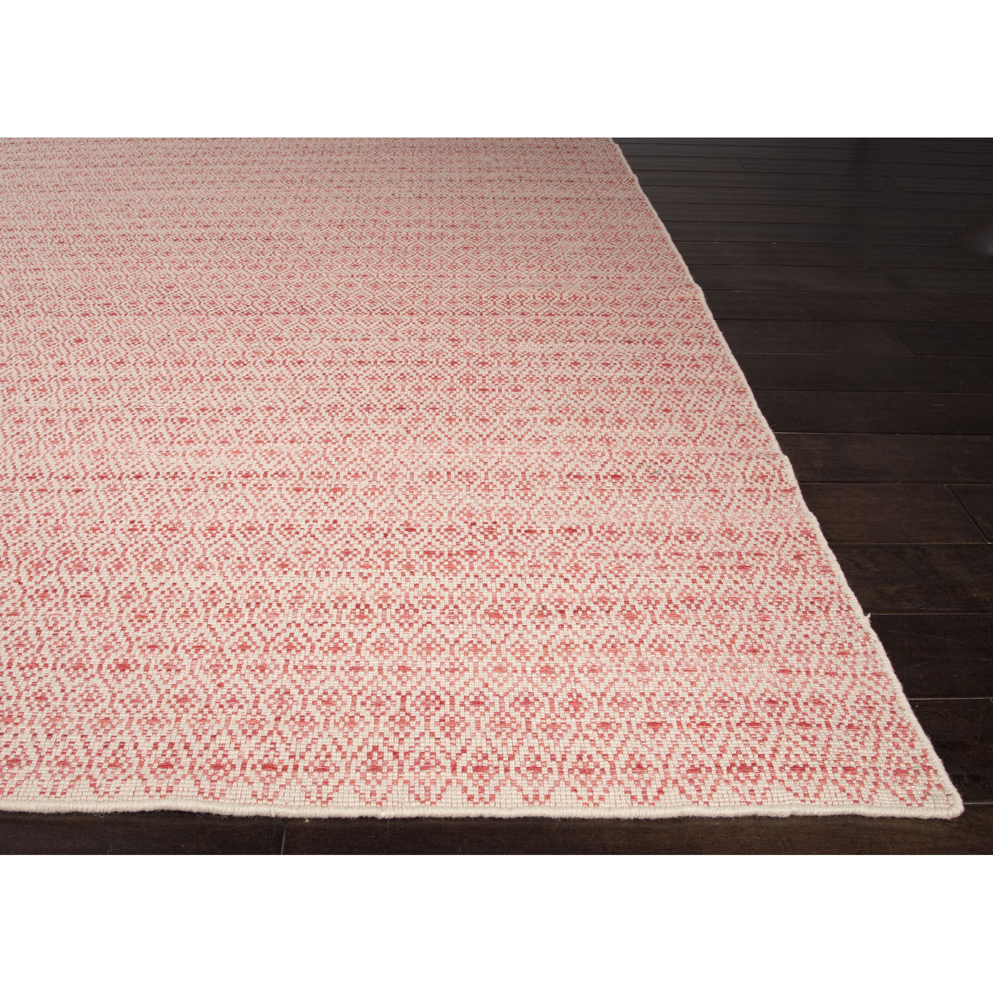Jaipur Rugs FlatWeave Moroccan Pattern Red/Taupe Wool And