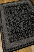 Load image into Gallery viewer, Nourison Regal Black Area Rug REG01 BLK