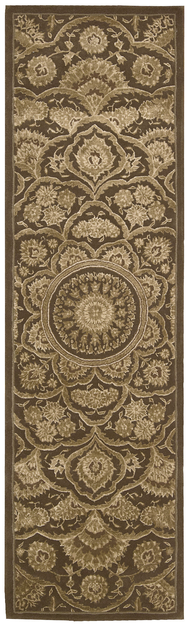 Nourison Regal Chocolate Area Rug REG02 CHO