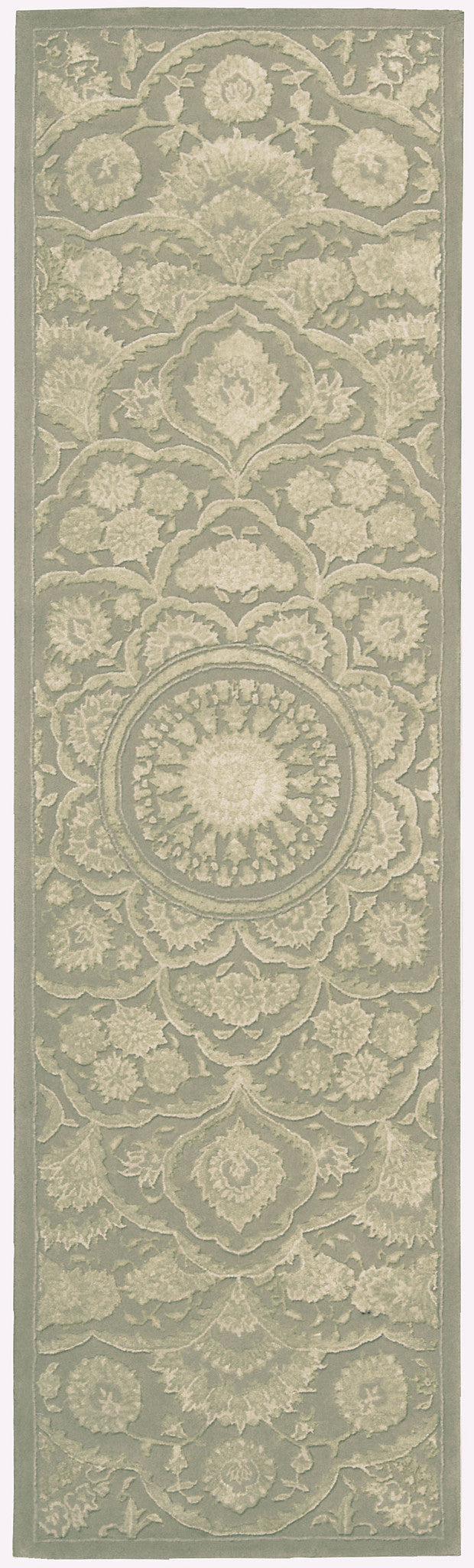 Nourison Regal Green Area Rug REG02 GRE