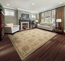Load image into Gallery viewer, Nourison Regal Sand Area Rug REG03 SAN