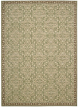 Load image into Gallery viewer, Nourison Riviera Green Area Rug RI01 GRE