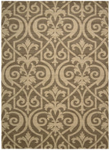 Load image into Gallery viewer, Nourison Riviera Mocha Area Rug RI04 MOC