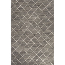Load image into Gallery viewer, Jaipur Rugs Modern Geometric Pattern Gray/Ivory Wool Area Rug