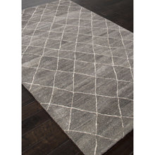 Load image into Gallery viewer, Jaipur Rugs Modern Geometric Pattern Gray/Ivory Wool Area Rug RIA01 (Rectangle)