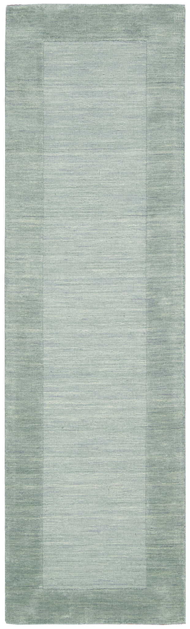 Barclay Butera Ripple Azure Blue Area Rug By Nourison RIP01 AZURE (Runner) | BOGO USA