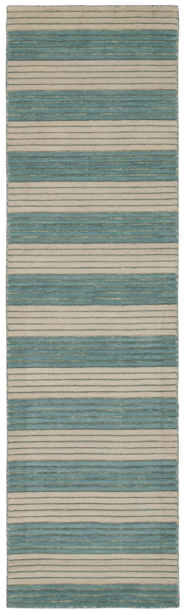Barclay Butera Ripple Seascape Area Rug By Nourison RIP02 SEASC (Runner) | BOGO USA