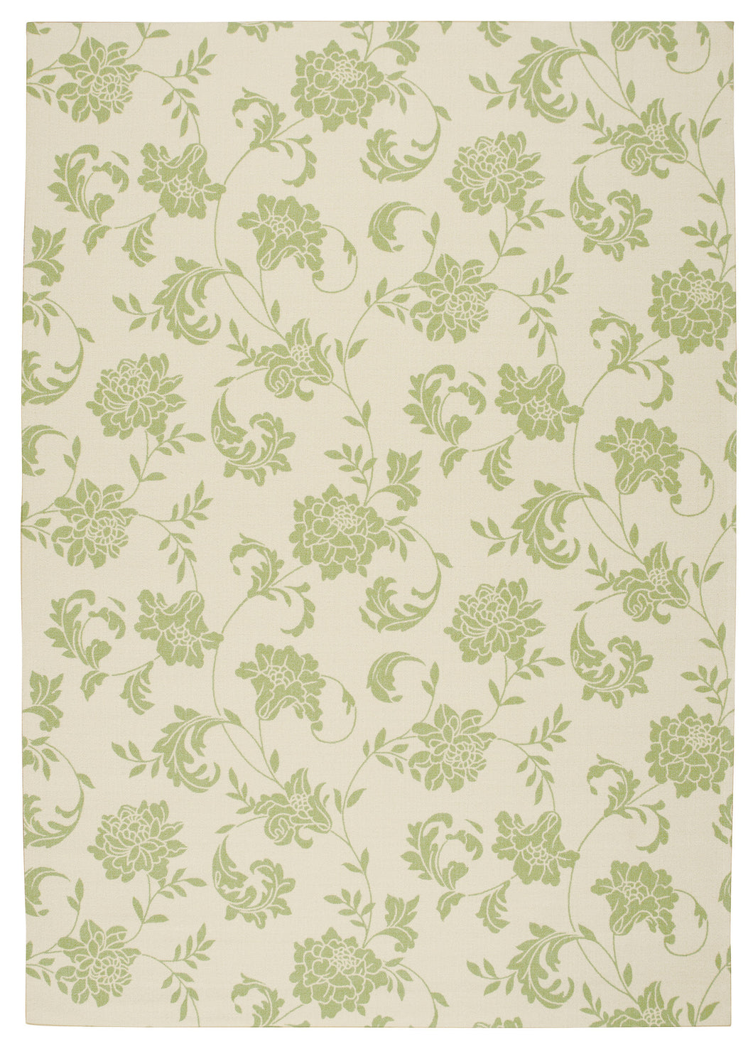 Nourison Home & Garden Green Area Rug RS014 GRE
