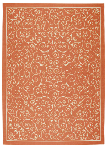 Jaipur Rugs FlatWeave Tribal Pattern Red/Taupe Wool Area Rug AT08 (Rectangle)