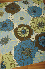 Load image into Gallery viewer, Nourison Home & Garden Light Blue Area Rug RS021 LTB