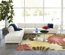 Load image into Gallery viewer, Nourison Home & Garden Green Area Rug RS022 GRE