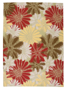 Nourison Home & Garden Green Area Rug RS022 GRE