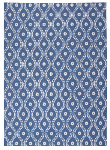 Nourison Home & Garden Navy Area Rug RS085 NAV