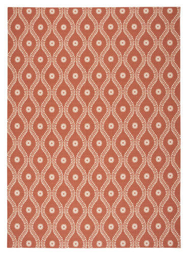 Nourison Home & Garden Rust Area Rug RS085 RUS