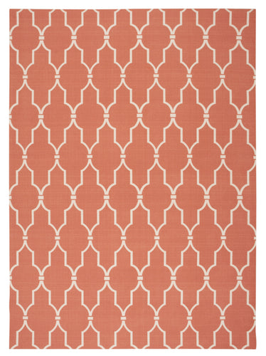Nourison Home & Garden Orange Area Rug RS087 ORG