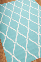 Load image into Gallery viewer, Nourison Home & Garden Aqua Area Rug RS089 AQU