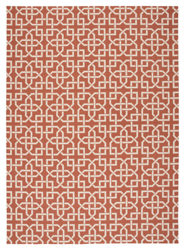 Nourison Home & Garden Rust Area Rug RS090 RUS