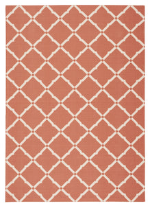 Nourison Home & Garden Orange Area Rug RS091 ORG