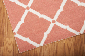 Nourison Home & Garden Orange Area Rug RS091 ORG (Rectangle)