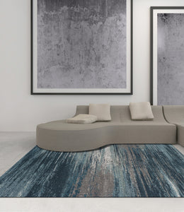 Dalyn Modern Greys Teal Mg5993 Area Rug