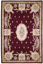 Load image into Gallery viewer, Kas Rugs Ruby 8900 Ruby Fleur-De-Lis Aubusson Area Rug