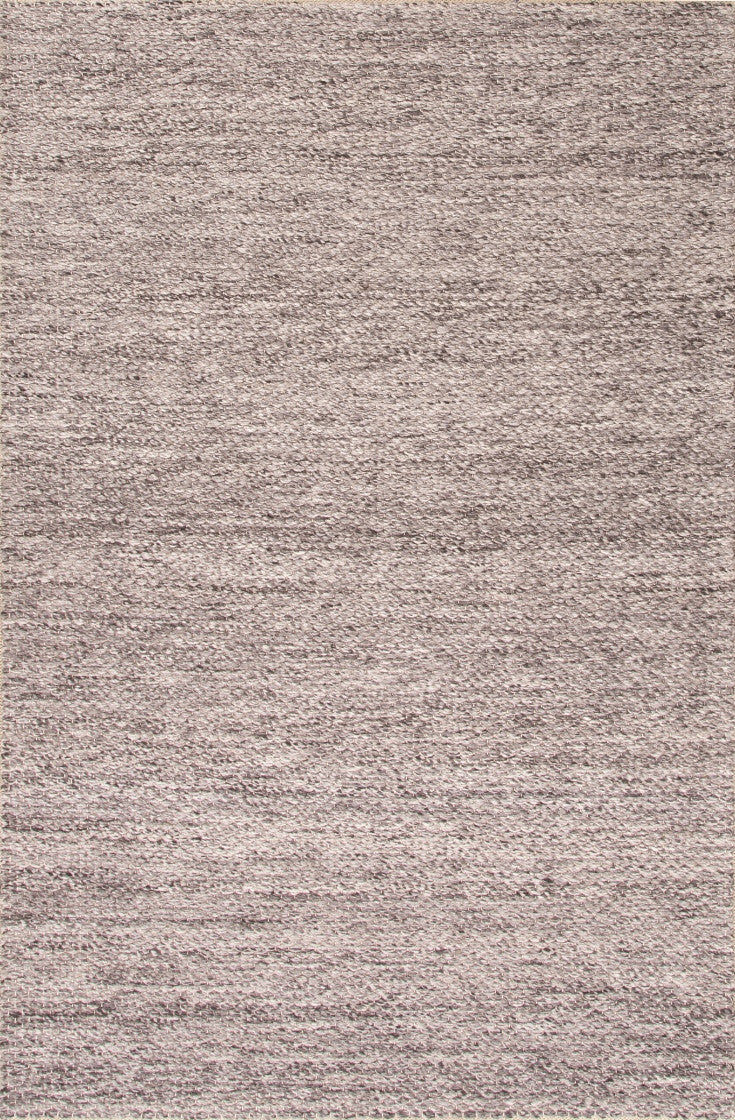 Jaipur Rugs Textured Stripe Pattern Gray Wool Area Rug