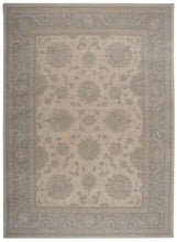 Load image into Gallery viewer, Kathy Ireland Royal Serenity Hyde Park Ivory Blue Area Rug By Nourison SER01 IVBLU