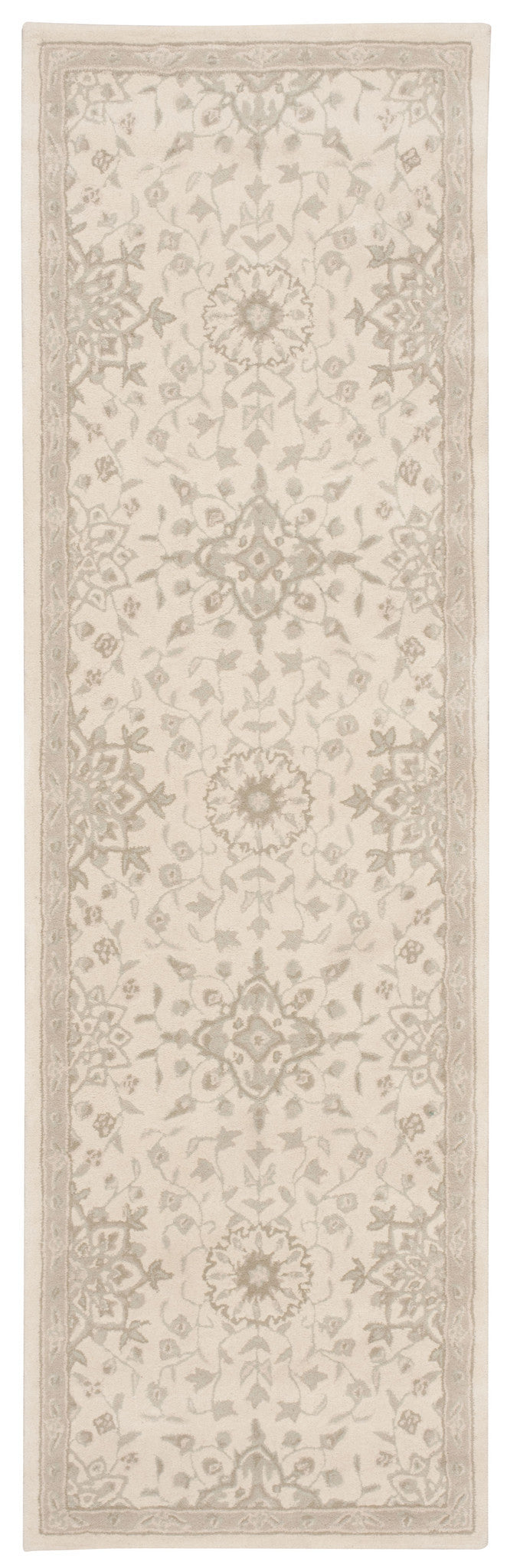 Kathy Ireland Royal Serenity St. James Bone Area Rug By Nourison SER02 BONE