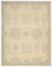 Load image into Gallery viewer, Kathy Ireland Royal Serenity St. James Bone Area Rug By Nourison SER02 BONE