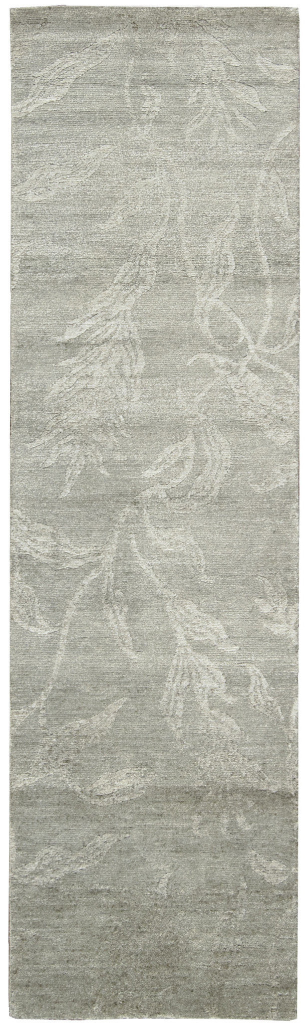 Nourison Silk Shadows Light Green Area Rug SHA01 LTG