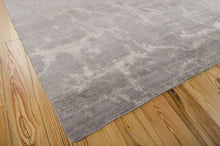 Load image into Gallery viewer, Nourison Silk Shadows Silver Area Rug SHA02 SIL
