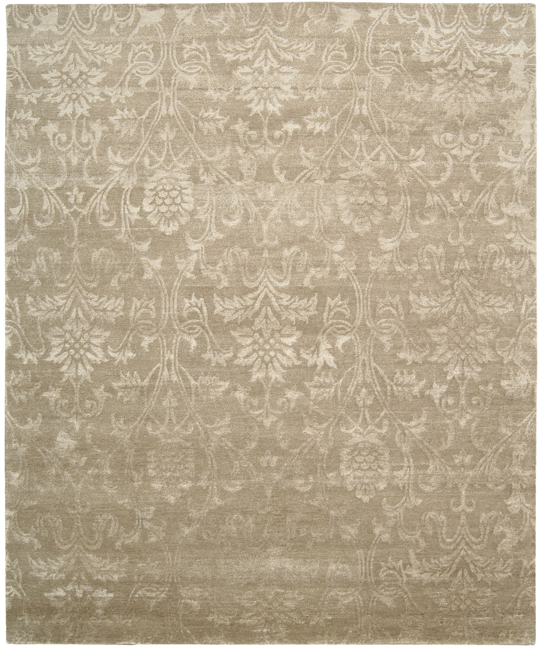 Nourison Silk Shadows Light Gold Area Rug SHA03 LGD