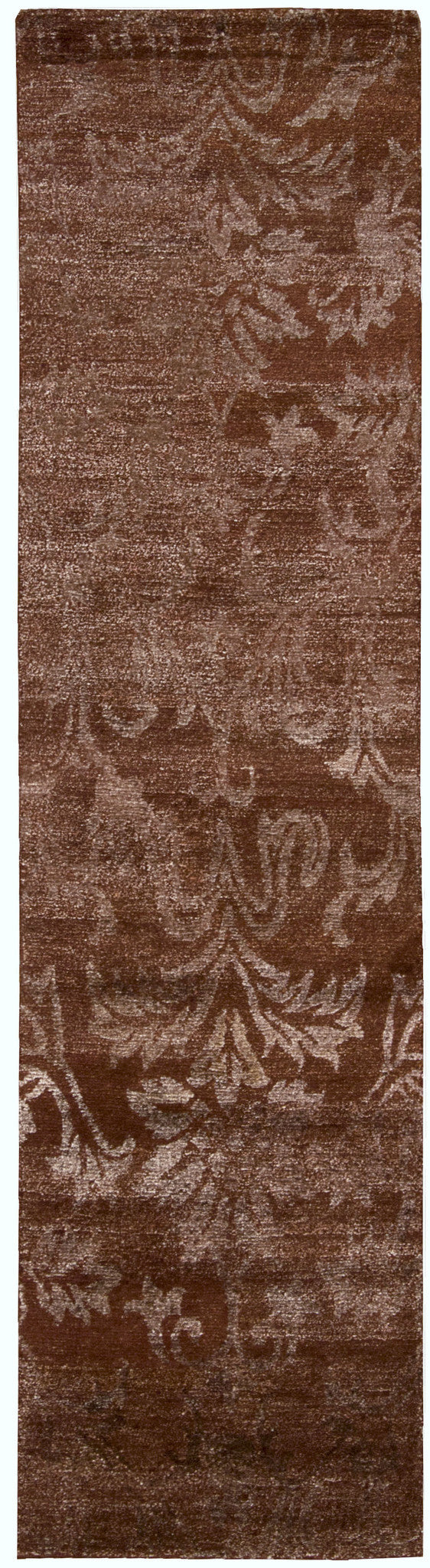 Nourison Silk Shadows Rust Area Rug SHA03 RUS