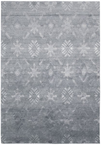 Nourison Silk Shadows Blue Area Rug SHA05 BL