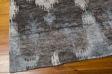 Load image into Gallery viewer, Nourison Silk Shadows Grey Area Rug SHA09 GRY