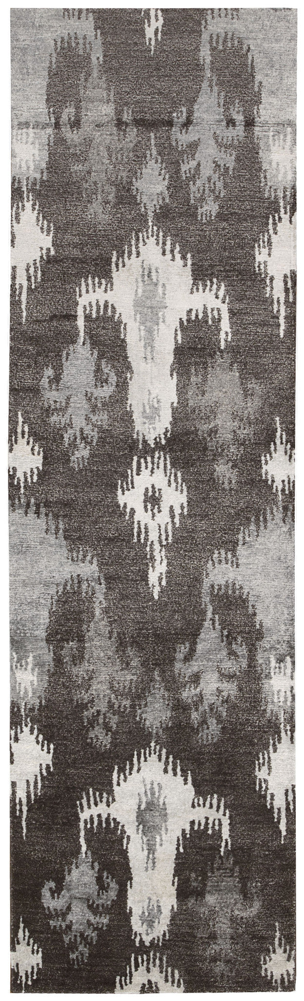 Nourison Silk Shadows Grey Area Rug SHA09 GRY