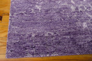 Nourison Silk Shadows Amethyst Area Rug SHA10 AMETH