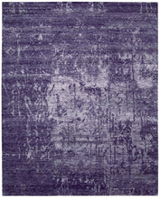 Load image into Gallery viewer, Nourison Silk Shadows Amethyst Area Rug SHA10 AMETH