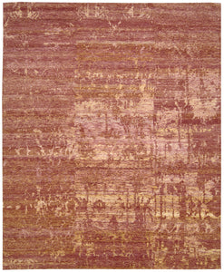 Nourison Silk Shadows Flame Area Rug SHA10 FLAME
