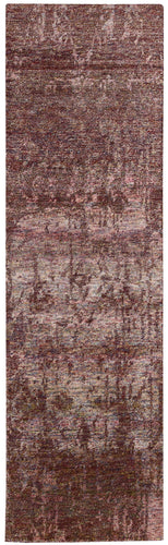 Nourison Silk Shadows Wine Area Rug SHA10 WINE