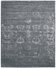 Load image into Gallery viewer, Nourison Silk Shadows Blue Stone Area Rug SHA15 BLSTN