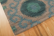 Load image into Gallery viewer, Nourison Siam Grey Area Rug SIA03 GRY (Rectangle)