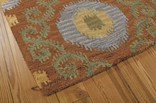 Load image into Gallery viewer, Nourison Siam Rust Area Rug SIA03 RUS (Rectangle)